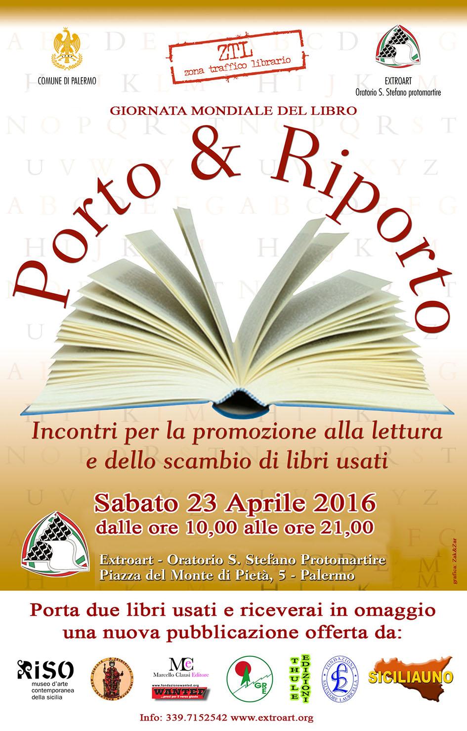 Porto e riporto – Incontri per la promozione alla lettura e dello scambio di libri usati